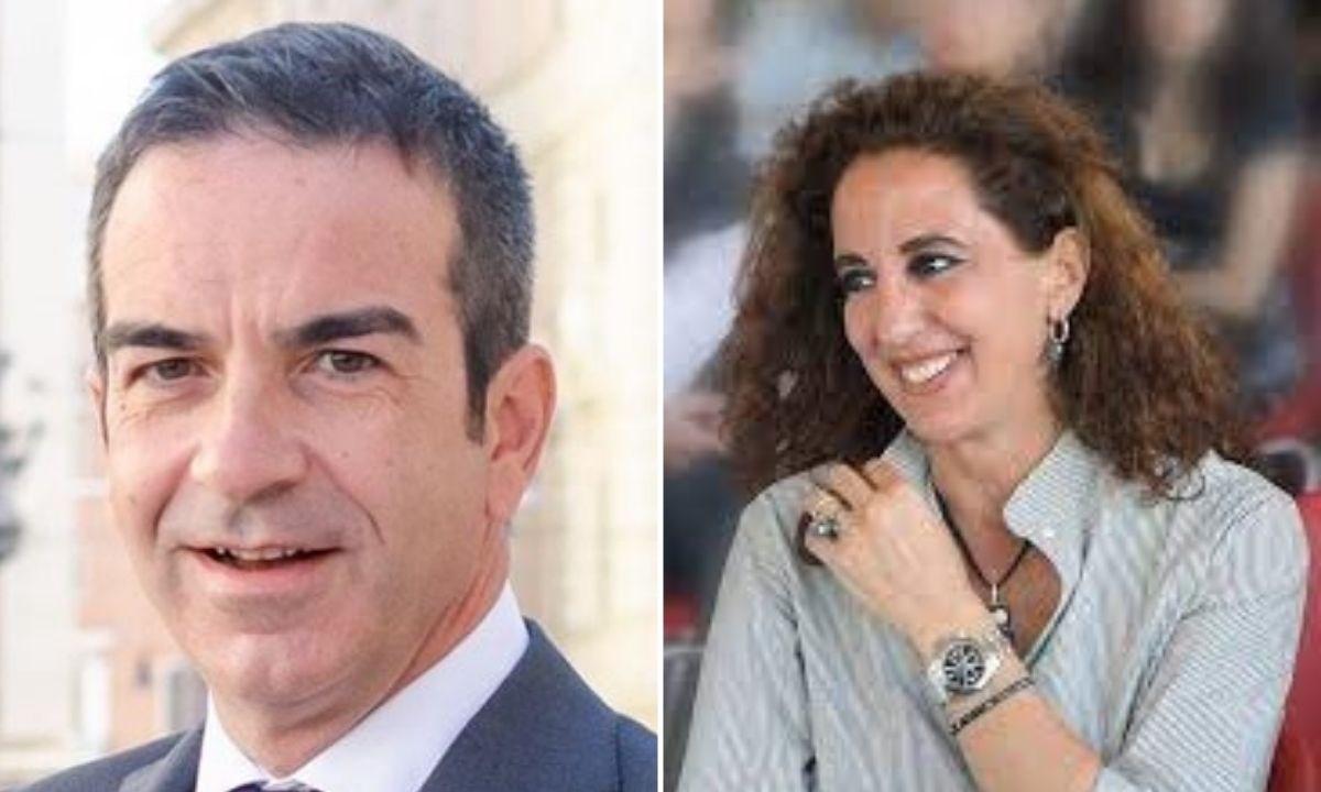 Roberto Occhiuto e Wanda Ferro