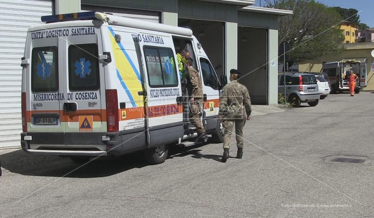 Lavoro sinergico dell'Asp e dei militari dell'esercito