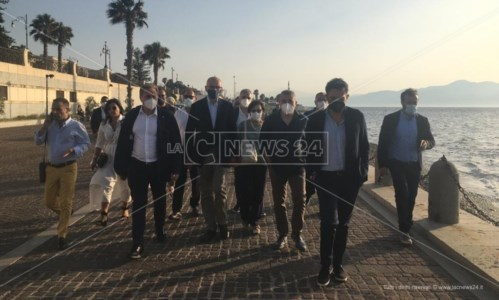 La corsa per la RegioneSanità e sviluppo, gli impegni di Letta a Reggio: «Dobbiamo rompere il muro di disinteresse per la Calabria»