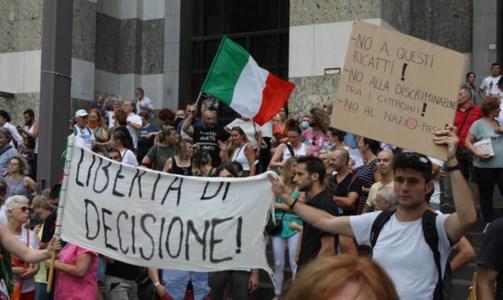 I no Green pass tornano in piazza: a Roma due le manifestazioni in programma