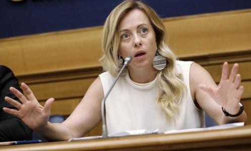 Giorgia Meloni (Ansa)