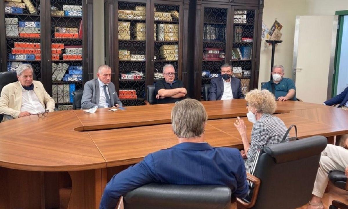 L'incontro con il sottosegretario Costa a Catanzaro