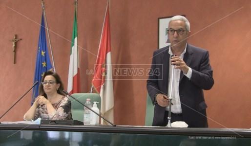 Il presidente dell'Ato Cosenza, Marcello Manna