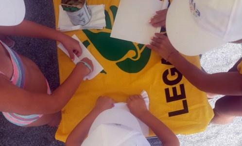 Ricicla estate: l'iniziativa di Legambiente sul lungomare Falcone Borsellino di Lamezia