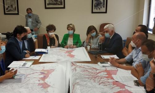 Rischio idrogeologico a Vibo Marina, zona rossa ridotta del 40%: «Risultato storico»