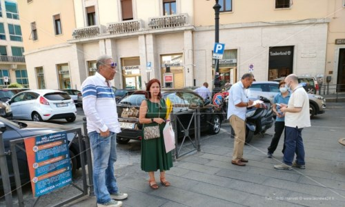 Uno scatto dall'iniziativa a Catanzaro