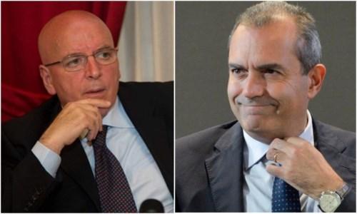 Mario Oliverio e Luigi de Magistris