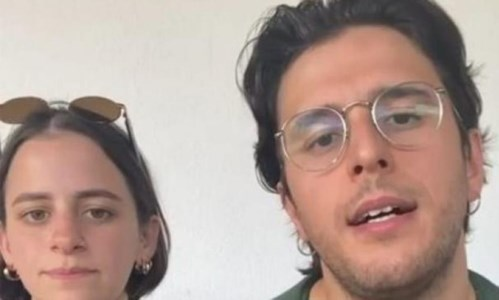 I due musicisti allontanati da Tropea