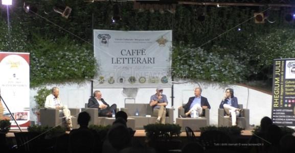 Pino Aprile ospite dei Caffè letterari del Rhegium Julii al circolo Polimeni di Reggio Calabria