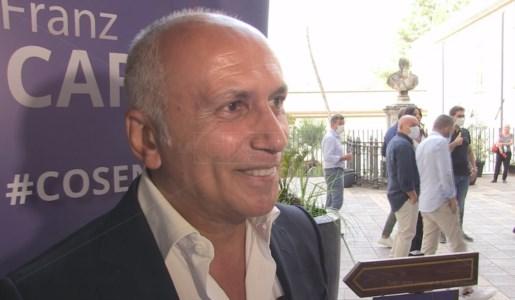 Franz Caruso, candidato sindaco di Cosenza