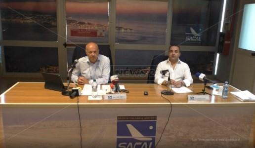 Presidente Sacal Giulio De Metrio e deputato reggino Francesco Cannizzaro