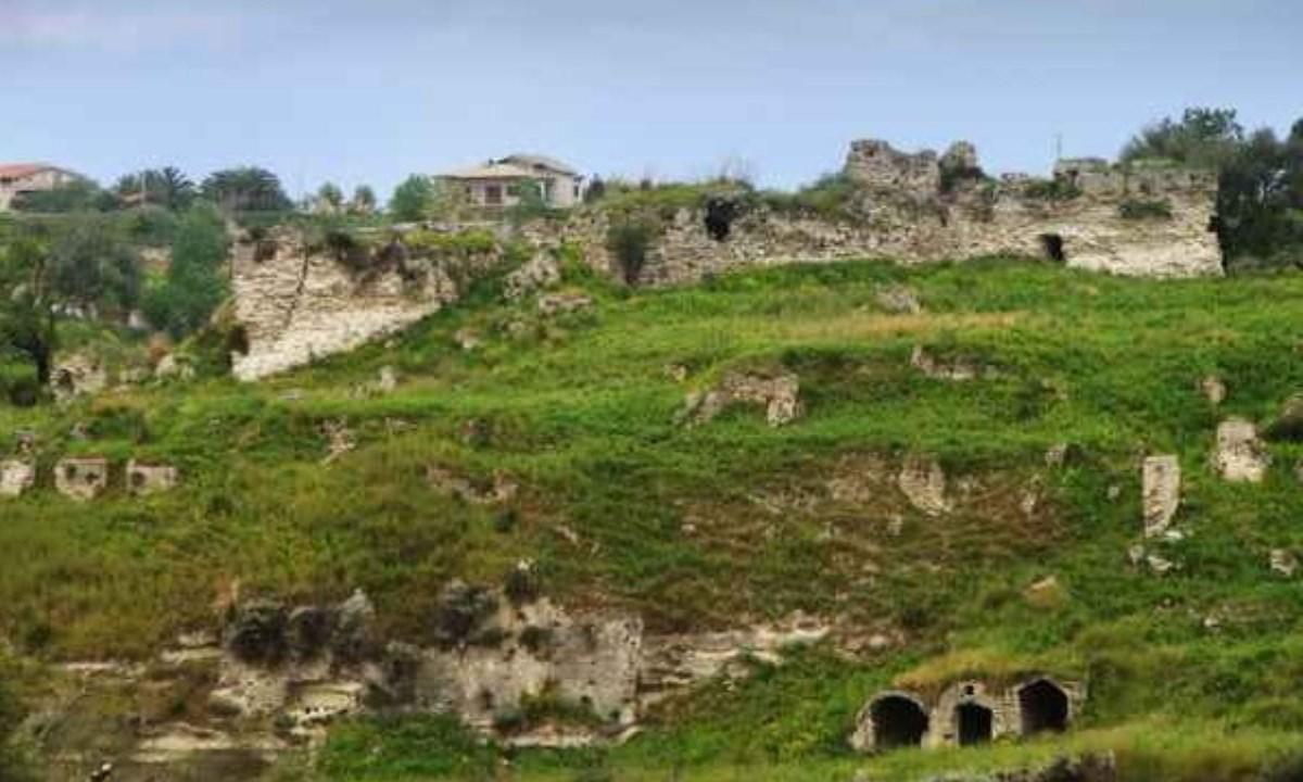 I resti dell'antica città in una foto sul sito del Comune