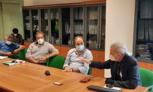 L'assessore De Caprio durante la riunione in Regione