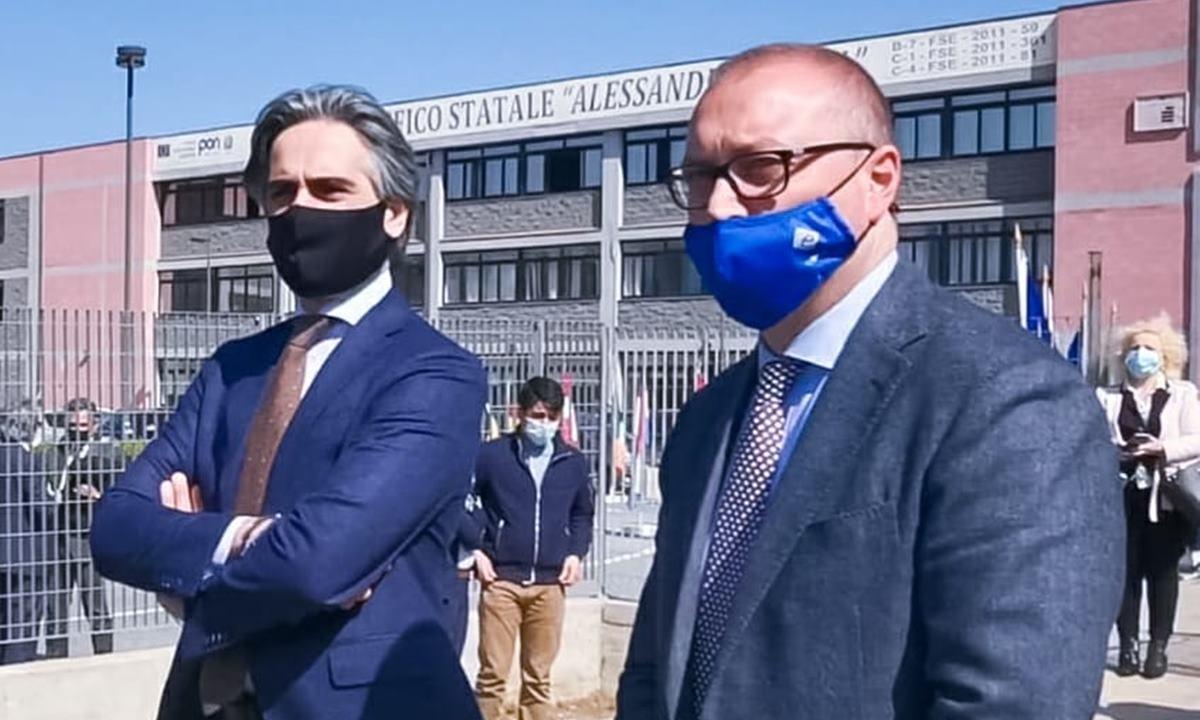 Giuseppe Falcomatà e Carmelo Versace