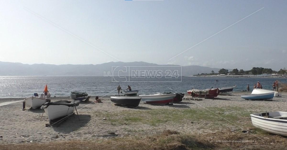 Spiaggia di Catona a Reggio Calabria