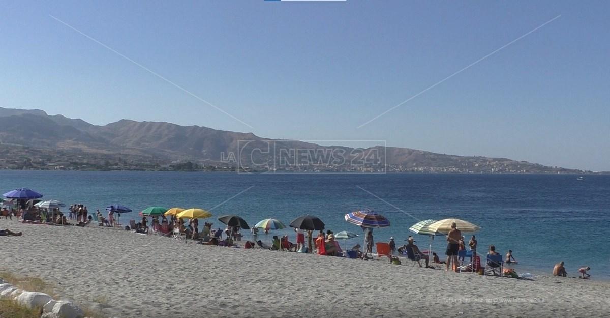 Spiaggia La Sorgente a Reggio Calabria