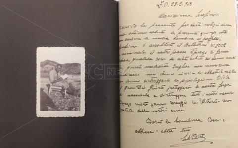 Foto e lettera Salvatore Furci da Pm 550 di Michele Furci