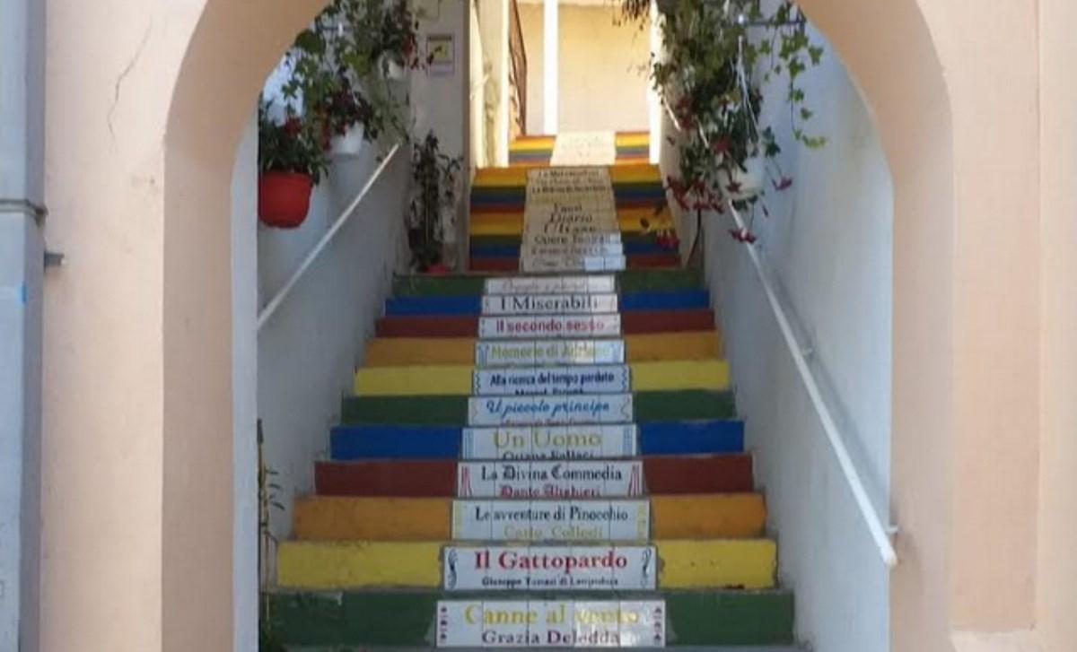 La scala letteraria di Tropea