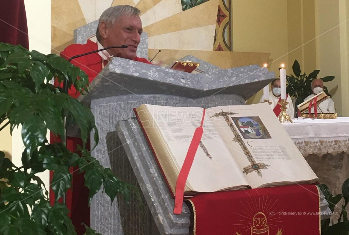 Don Luigi Ciotti ricorda Antonino Scopelliti nella chiesa Maria Maddalena a Campo Calabro