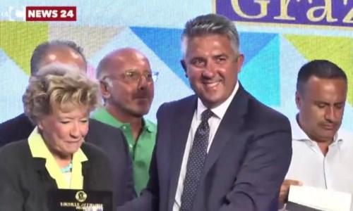 La premiazione di Dacia Maraini