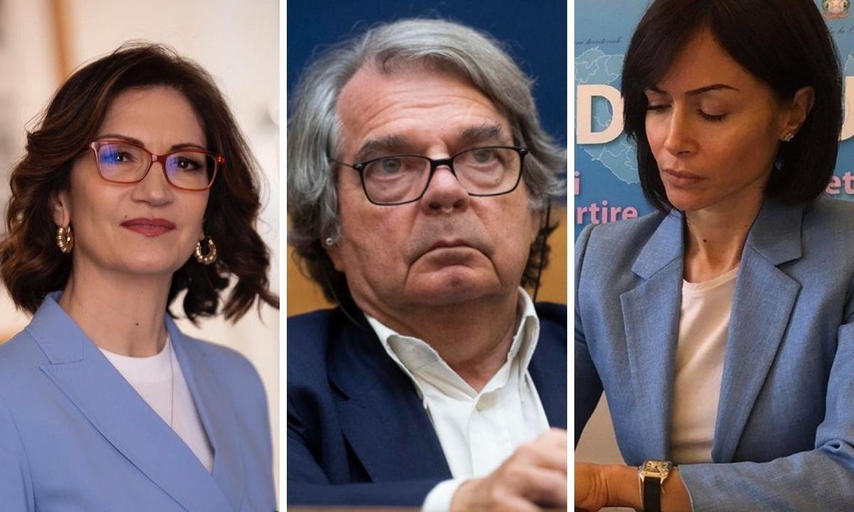 Da sinistra Gelmini, Brunetta e Carfagna