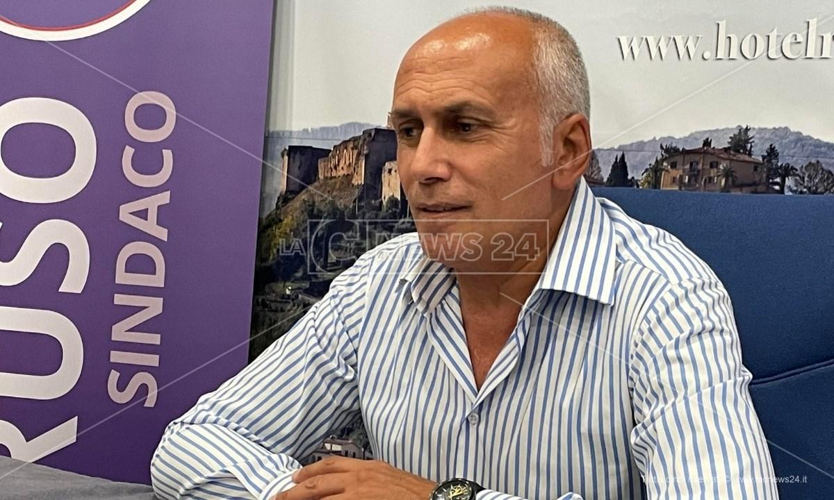 Franz Caruso, candidato a sindaco Cosenza