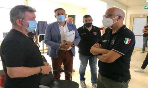 Sud in fiammeIncendi Calabria, vertice alla Cittadella. Spirlì: «Piena collaborazione con Governo e Prociv»
