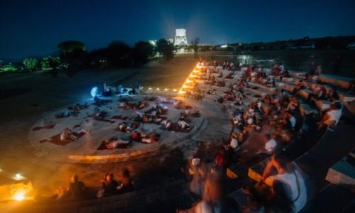 Il teatro Torre Marrana di Ricadi