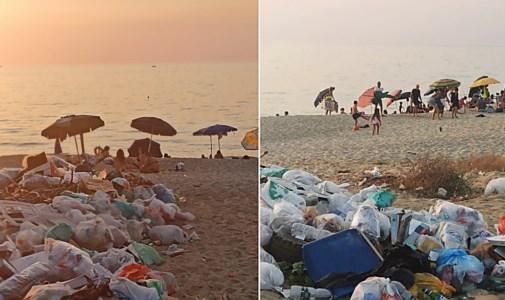 """Estate da incuboPizzo, discarica in spiaggia e mare sporco: benvenuti al """"lido monnezza"""""""