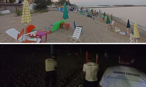 Operazione Mare sicuroSequestratati oltre mille ombrelloni lasciati abusivamente sulle spiagge libere del tirreno cosentino