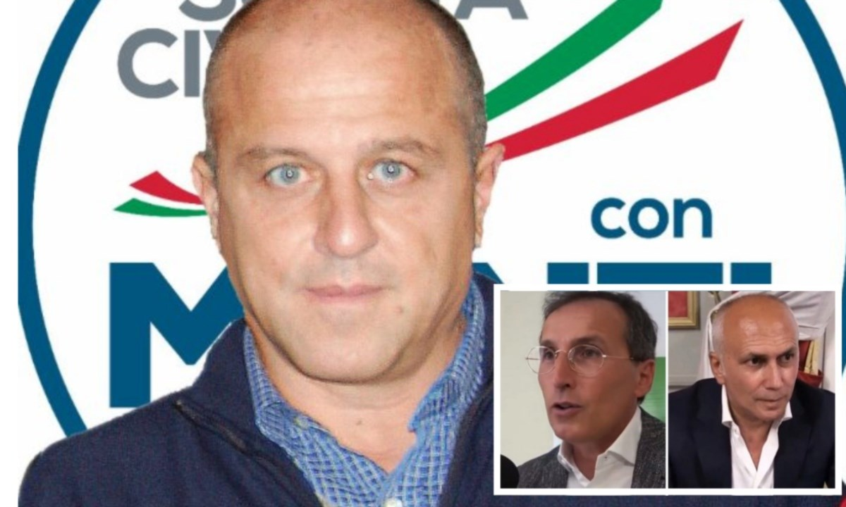 Sergio Nucci e nei riquadri Francesco Boccia e Franz Caruso