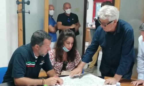 Il leader della Lega in CalabriaEmergenza incendi, Salvini in Aspromonte incontra il presidente del Parco e i sindaci