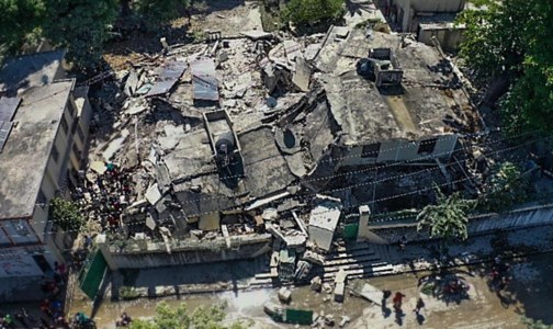 Sisma ad Haiti, foto ansa