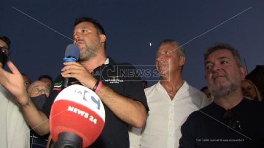 Salvini, Biasi e Spirlì
