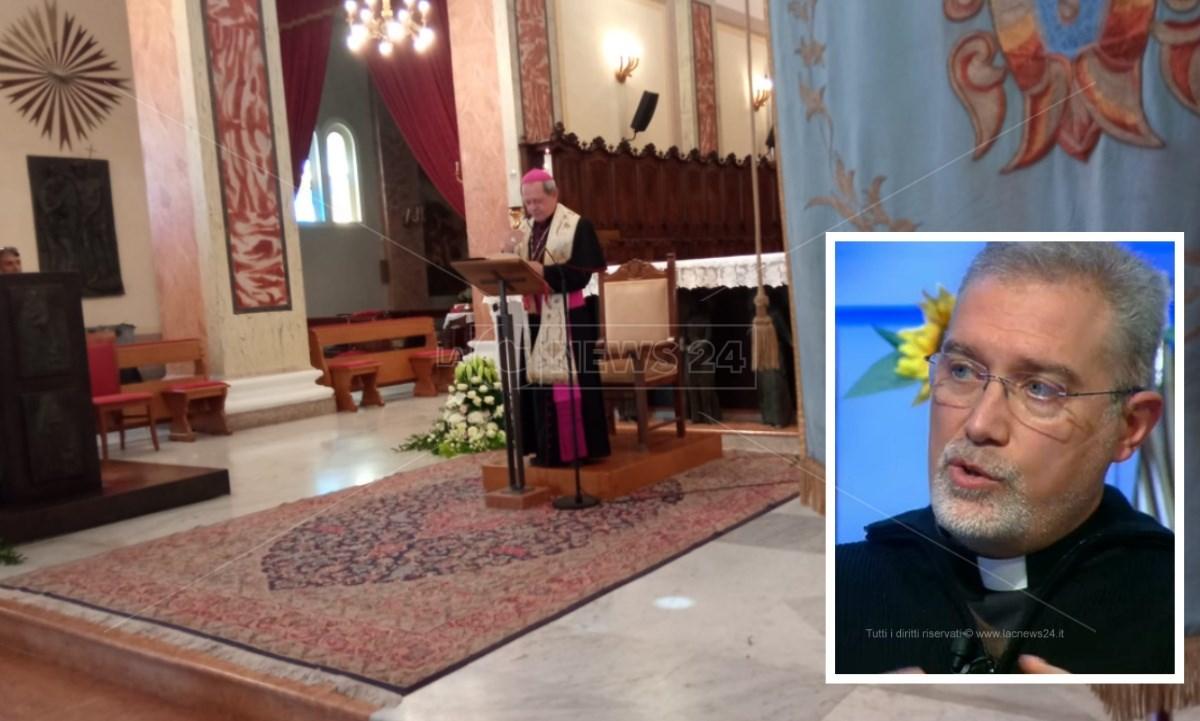 L'annuncio del nuovo vescovo, monsignor Nostro