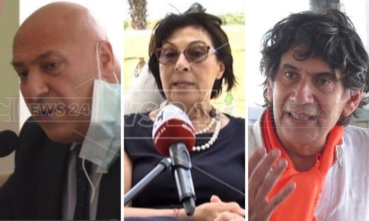 Vincenzo Voce, Amalia Bruni, Carlo Tansi