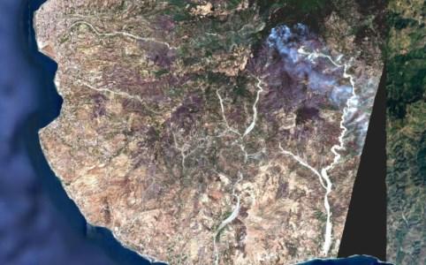 Calabria feritaIncendi, ecco come i roghi hanno devastato l'Apromonte: le immagini satellitari dell'Arpacal - VIDEO