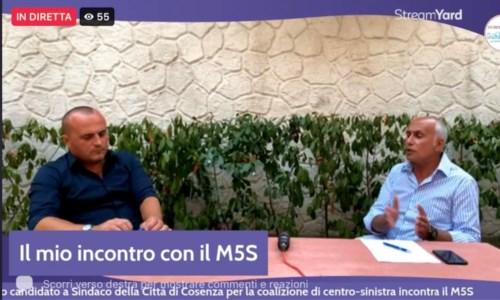 Verso le comunaliElezioni Cosenza, ore di riflessione per il M5S. Ma Franz Caruso avverte: «Non faccio passo indietro»