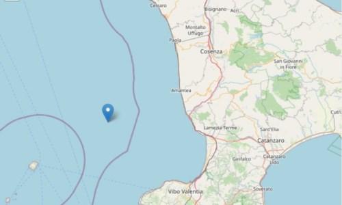 La Calabria tremaTerremoto di magnitudo 4.4 nel mar Tirreno: nessun danno segnalato