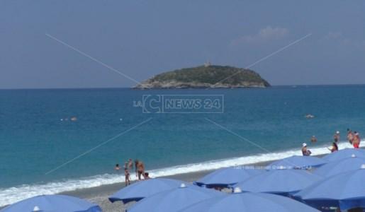 L'isola di Cirella, simbolo della città di Diamante