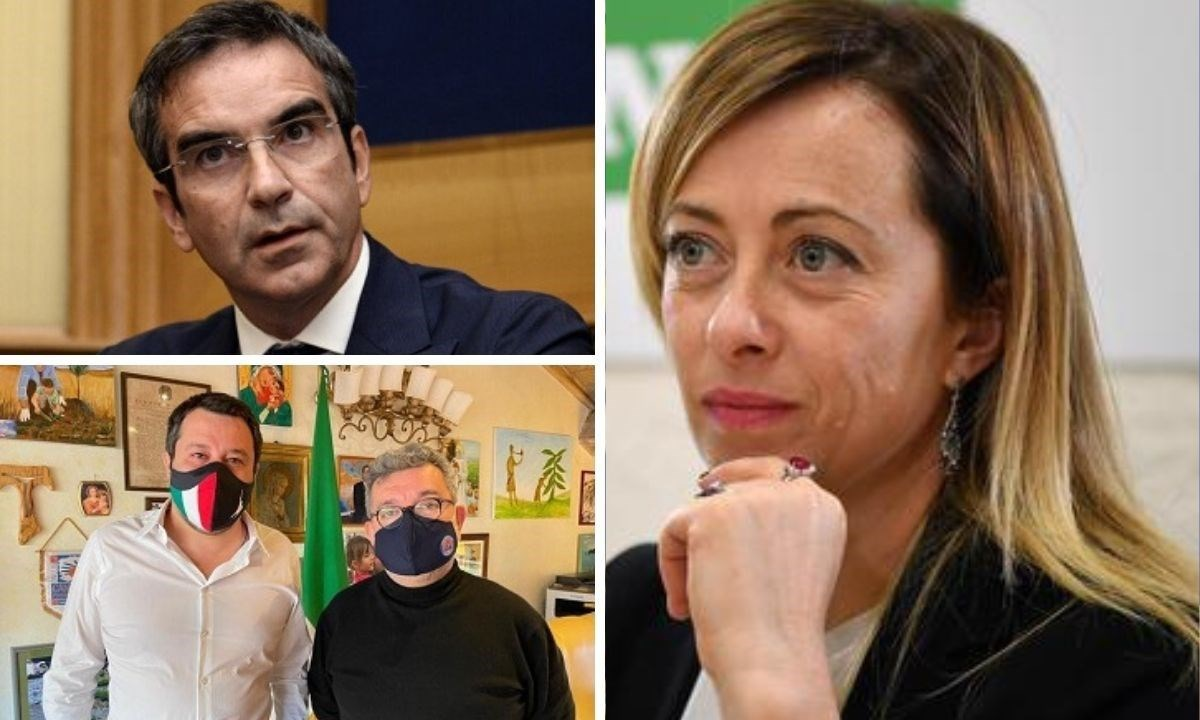 Occhiuto, Salvini, Spirlì e Meloni