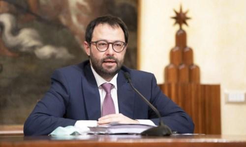 Il ministro Patuanelli (ansa)
