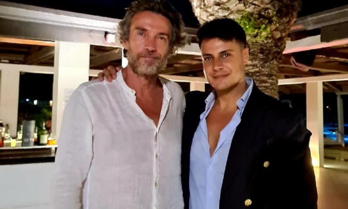 L'attore Alessio Boni insieme all'organizzatore di Cineincontriamoci  Mattia Scaramuzzo
