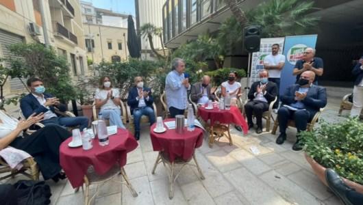 Il minsitro Brunetta a Brindisi, foto da fb