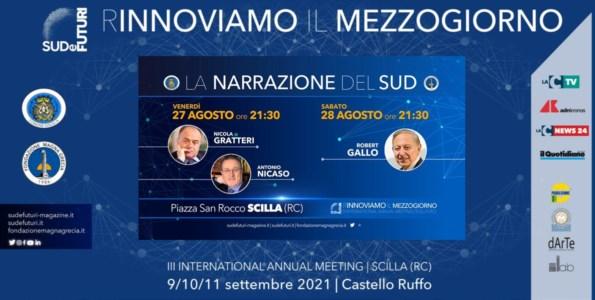 L'eventoScilla, Nicola Gratteri e Robert Gallo apriranno il terzo meeting Sud e Futuri