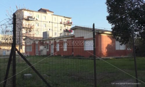 L'asilo del quartiere Fondo Gesù a Crotone