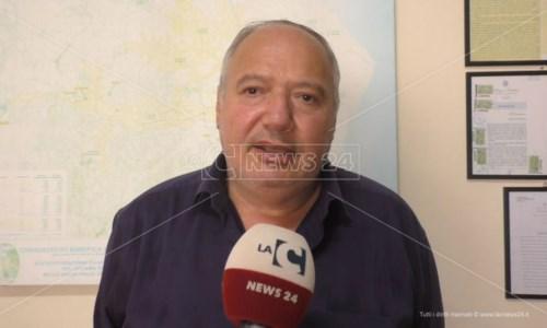 Il presidente del Consorzio di bonifica ionio crotonese, Roberto Torchia