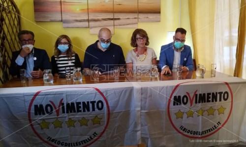La corsa per la RegioneElezioni Calabria, M5S a Crotone: «Nelle nostre liste niente corrotti. Speriamo in un voto libero»