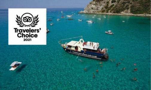 Calabria da scoprireTurismo Vibo, il tour in barca lungo la Costa degli dei vince il premio Tripadvisor