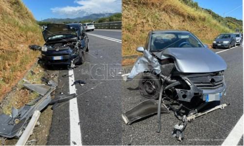Cosenza, incidente stradale lungo la 107: un ferito